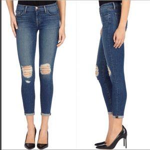 J Brand Capri Breathless Jeans sz 24